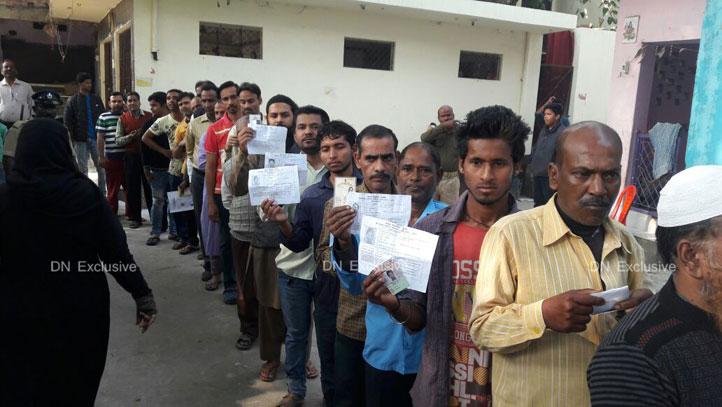 कानपुर में वोटरों में दिखा जबरदस्त उत्साह