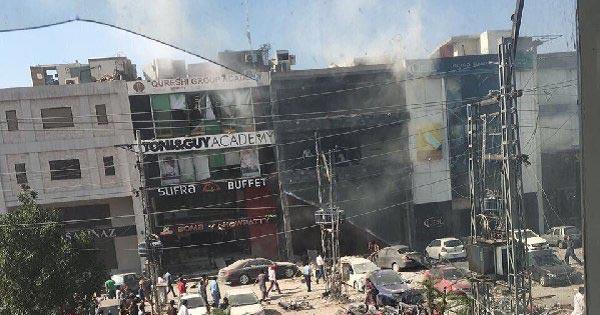 दोहरा विस्फोट में  आठ लोगों की मृत्यु