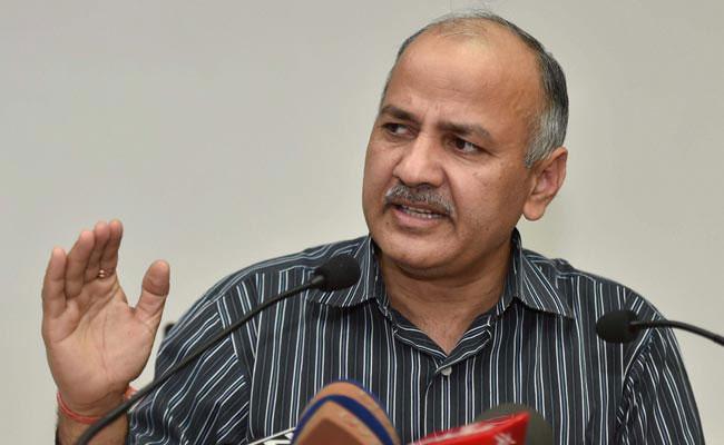 दिल्ली के डिप्टी सीएम और वित्त मंत्री मनीष सिसोदिया