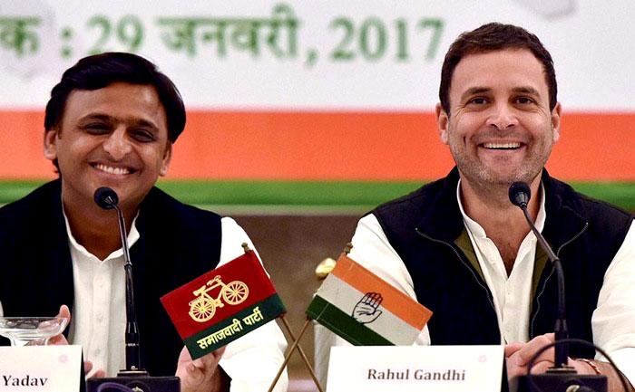 अखिलेश यादव - कांग्रेस उपाध्यक्ष राहुल गांधी