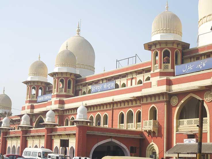 कानपुर सेंट्रल  रेलवे स्टेशन