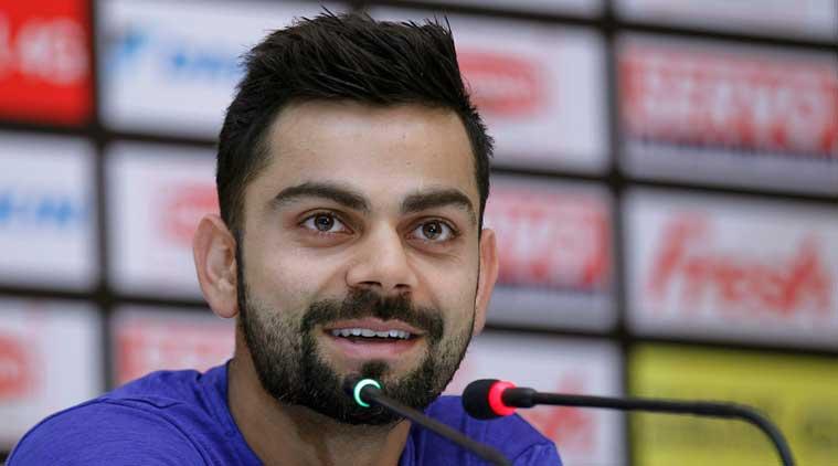 भारतीय क्रिकेट टीम के कप्तान विराट कोहली