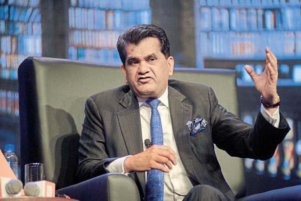नीति आयोग के सीईओ अमिताभ कांत