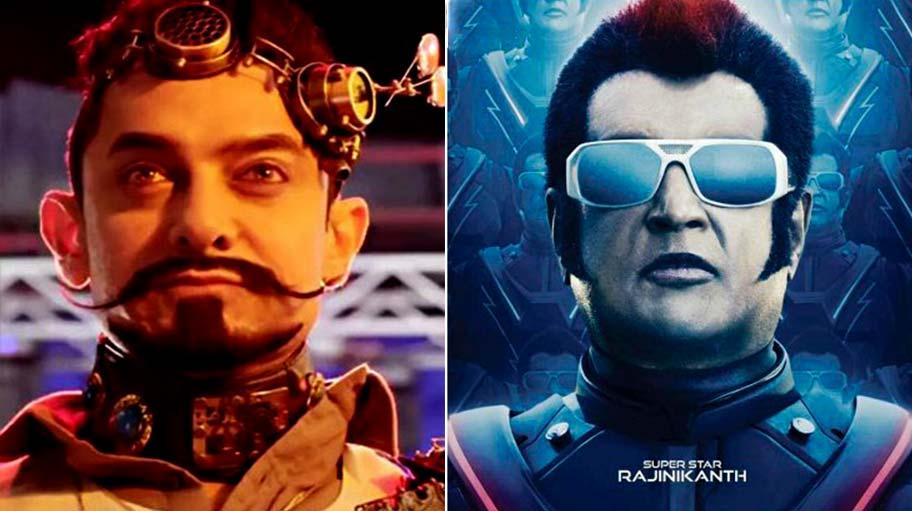 फिल्म 'सीक्रेट सुपरस्टार' और फिल्म '2.0' (फ़ाइल फोटो)