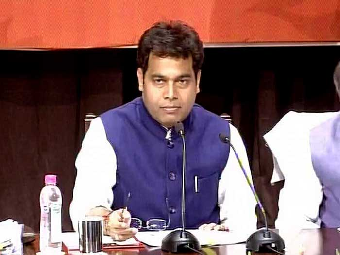 कैबिनेट मंत्री श्रीकांत शर्मा