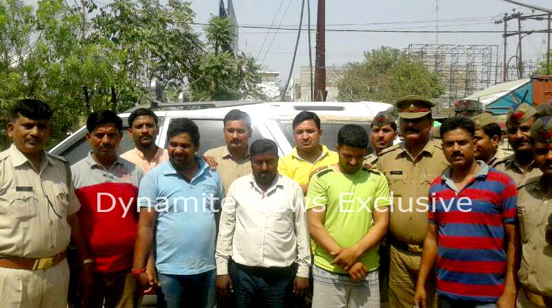 कानपुर पुलिस गिरोह को गिरफ्तार किया