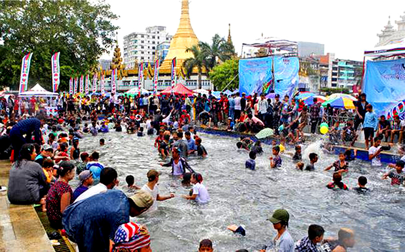 म्यांमार: जल महोत्सव (फ़ाइल फ़ोटो)