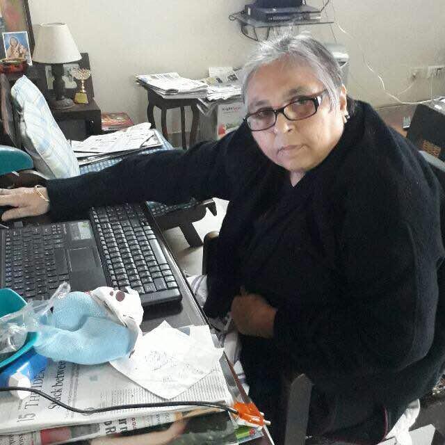 पत्रकार नोरा चोपड़ा का फाइल फोटो
