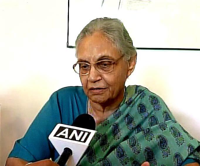 शीला दीक्षित, दिल्ली पूर्व मुख्यमंत्री