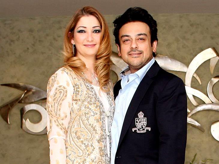 आदनान सामी और पत्नी रोया सामी