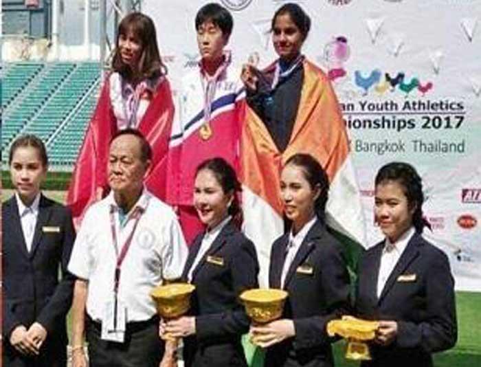 एशियन यूथ प्रतियोगिता में सीमा ने जीता कांस्य पदक
