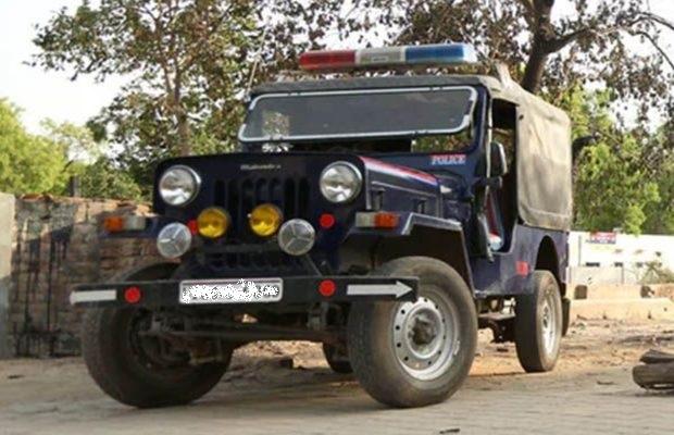 लखनऊ पुलिस जीप (फाइल फोटो)