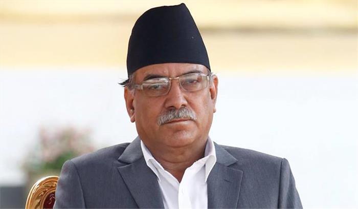 नेपाल के प्रधानमंत्री पुष्प कमल दहल प्रचंड