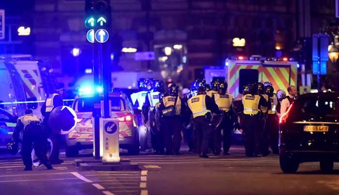 लंदन में आतंकी हमला