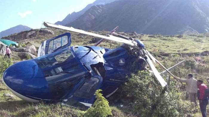 दुर्घटनाग्रस्त हेलीकाप्टर