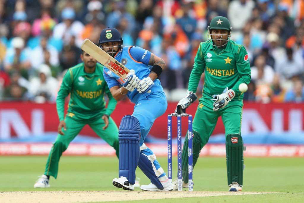 भारत -पाकिस्तान  की  टीम