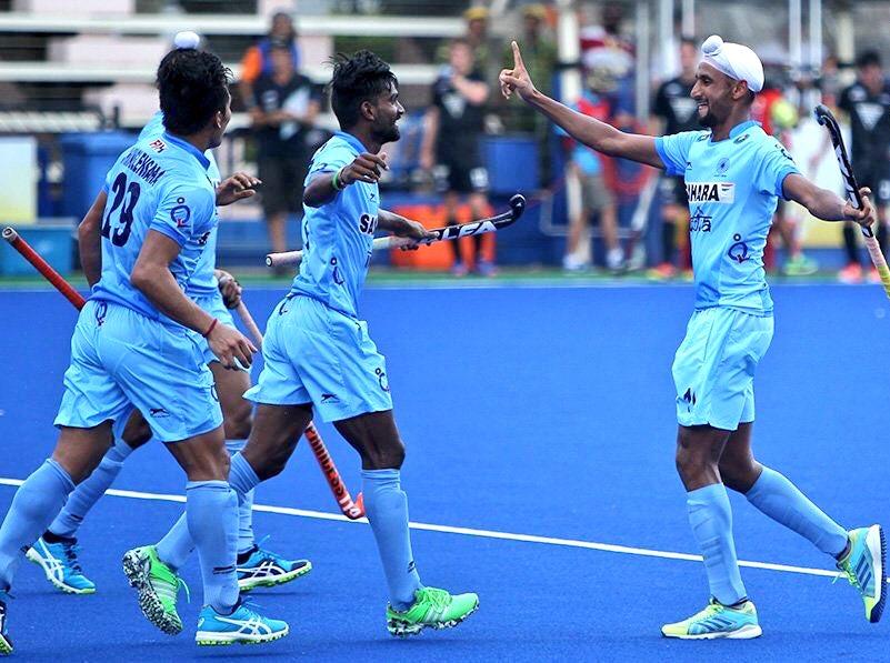 भारतीय टीम- हॉकी वर्ल्ड लीग सेमीफाइनल