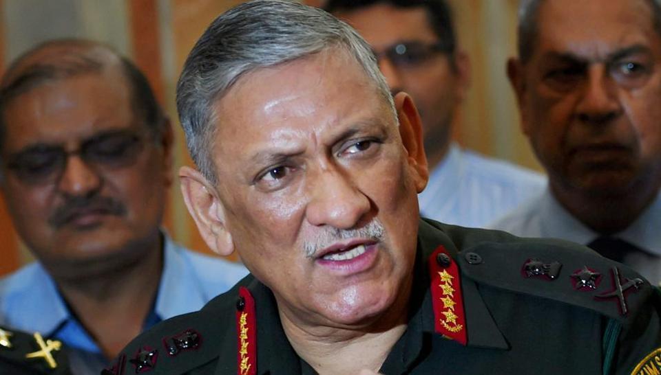 बिपिन रावत, सेना प्रमुख