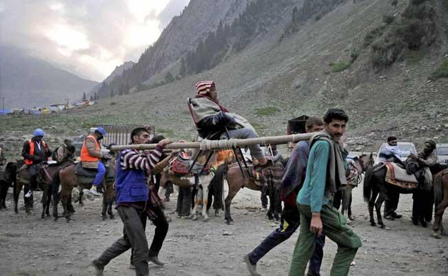 4,477 तीर्थयात्रियों का जत्था अमरनाथ के लिए रवाना