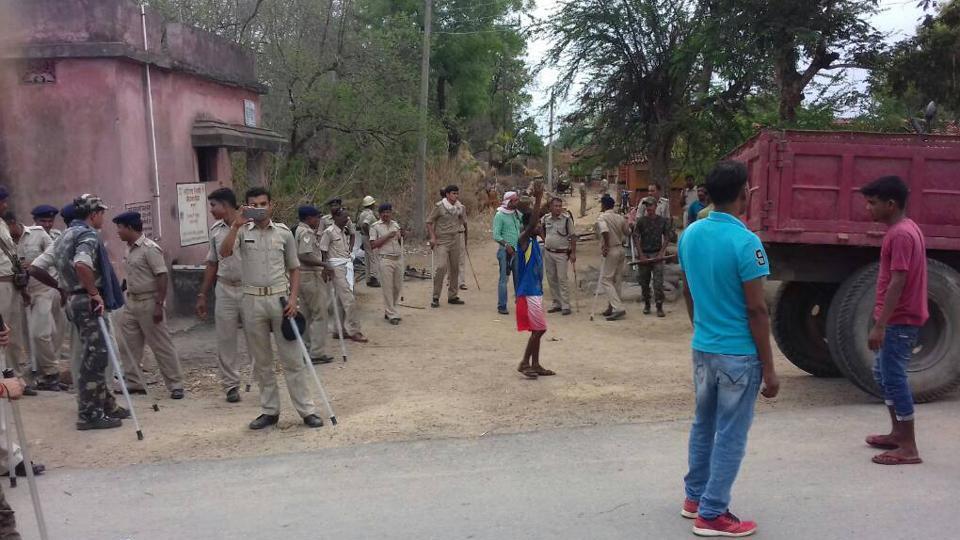 घटना के बाद साहिबगंज जिले में तैनात पुलिस