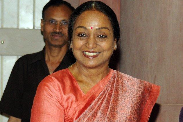 मीरा कुमार, राष्ट्रपति चुनाव  उम्मीदवार