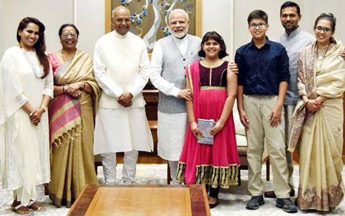 रामनाथ कोविंद का परिवार