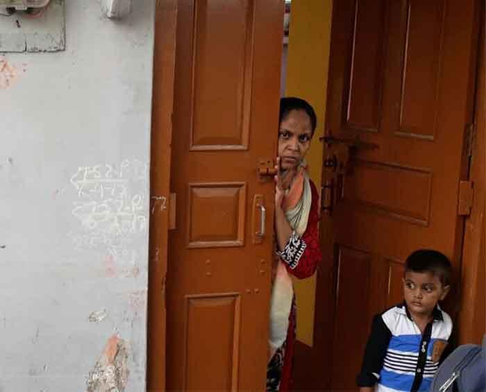 जाजमऊ का वह घर जहां से पुलिस 3 लोगों को उठा ले गयी