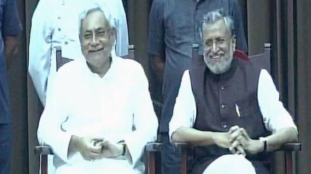 नीतिश कुमार और सुशील मोदी