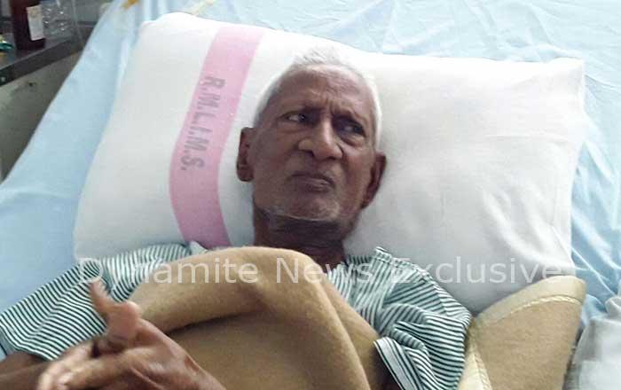 अस्पताल में भर्ती सपा विधायक आलमबदी