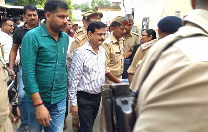 14 दिन की न्यायिक हिरासत में भेजे गये डॉ. राजीव मिश्रा