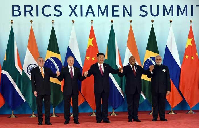 चीन में ब्रिक्स  देशों के प्रतिनिधि