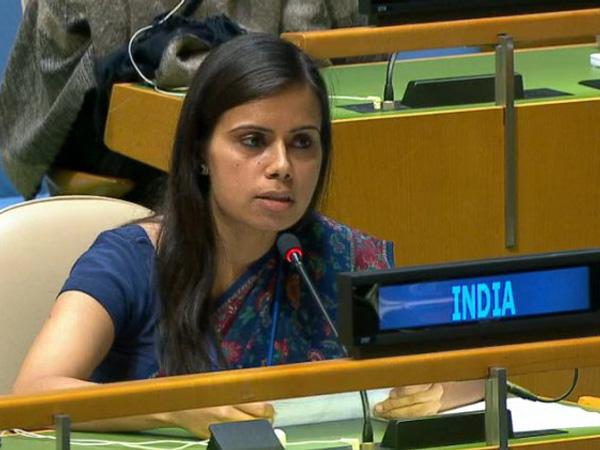 यूएन में भारत की सचिव एनएम गंभीर (फाइल फोटो)