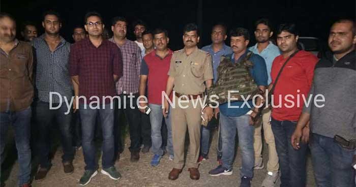 मुठभेड़ को अंजाम देने वाली पुलिस टीम