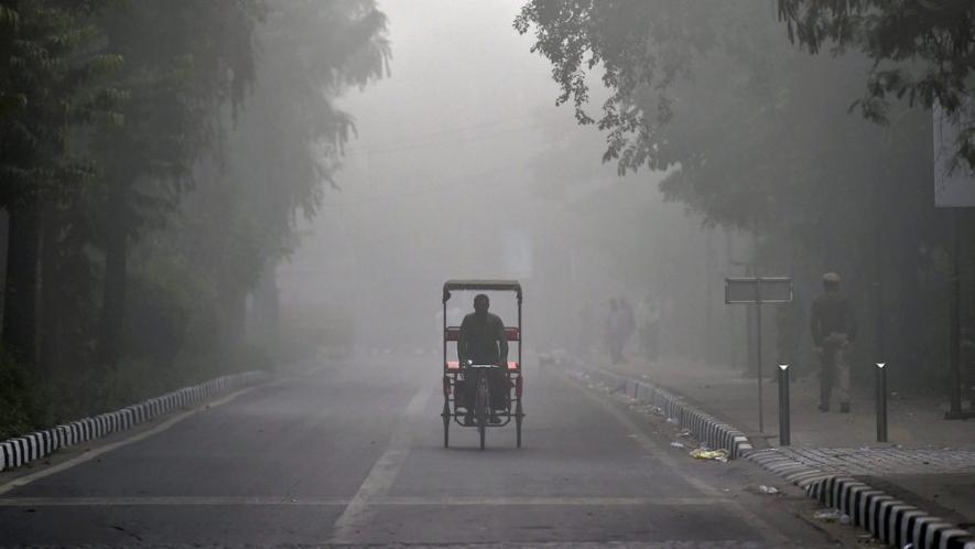 स्मॉग की वजह से दिल्ली का बुरा हाल