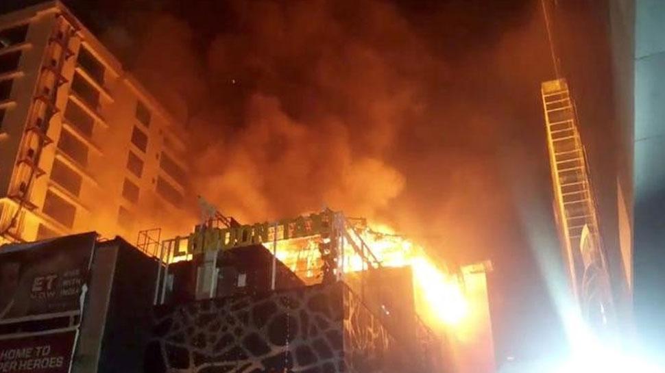 (फाइल फोटो) कमला मिल्स में भीषण आग