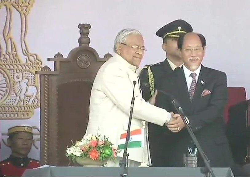 नेफ्यू रियो ने ली CM पद की शपथ