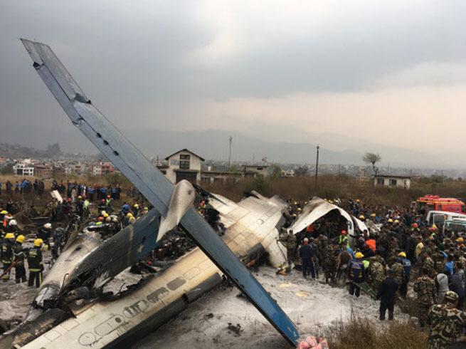 दुर्घटनाग्रस्त विमान