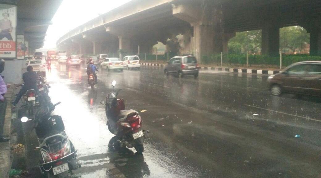 दिल्ली-NCR में बारिश