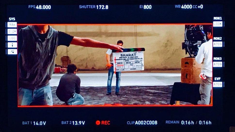 सलमान खान ने शुरू की 'भारत' की शूटिंग