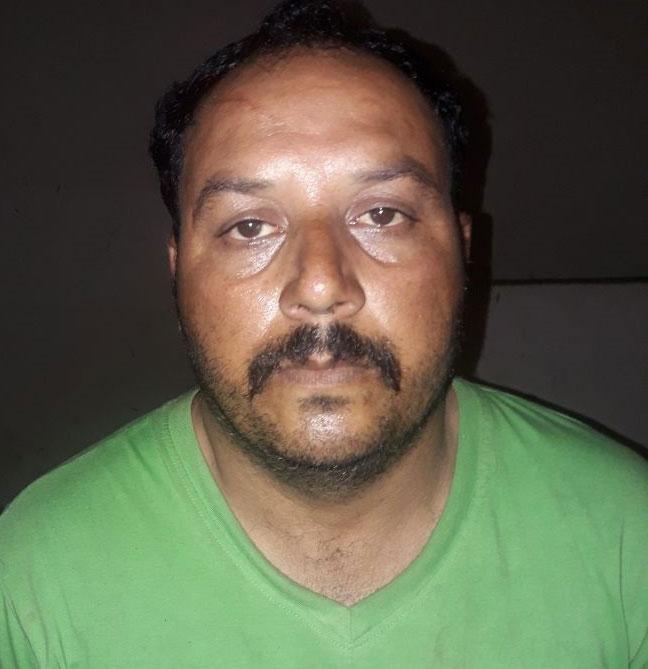 गिरफ्तार बदमाश यासीन उर्फ सुल्तान