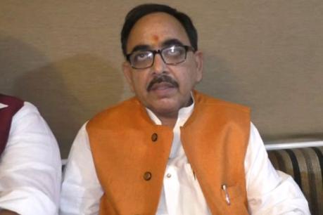 बीजेपी प्रदेश अध्यक्ष महेंद्रनाथ पांडेय