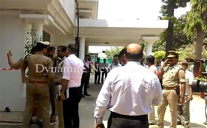 घटना के बाद ATS ऑफिस पहुंचे कई अधिकारी