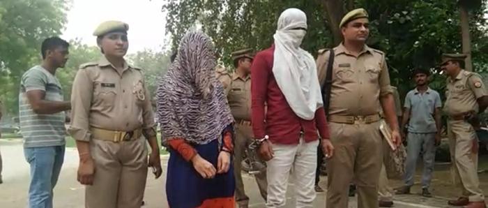 पुलिस की गिरफ्त में कलयुगी मां-बाप