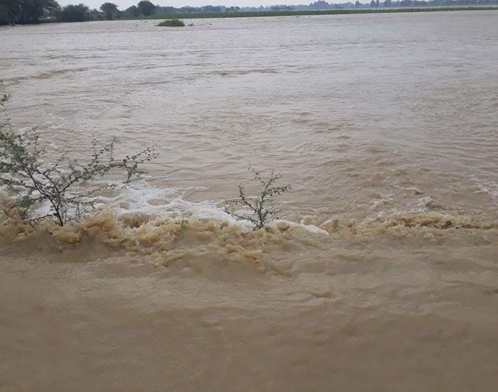 बाढ़ की दृश्य