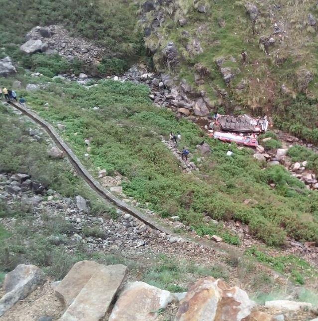 घटनास्थल की तस्वीर