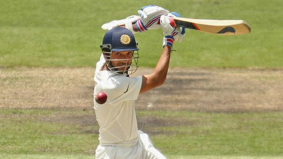 दूसरे टेस्ट के दौरान बल्लेबाजी करते रहाणे