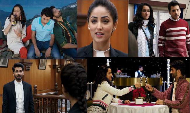 फिल्म 'बत्ती गुल मीटर चालू' ट्रेलर के कुछ दृश्य
