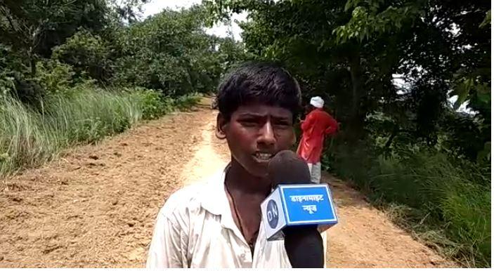 डाइनामाइट न्यूज़ से आपबीती साझा करता बाल मजदूर