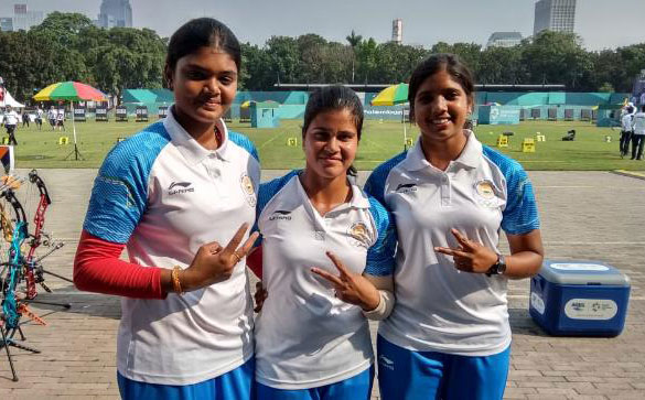 भारतीय कम्पाउंड महिला तीरंदाज़ी टीम