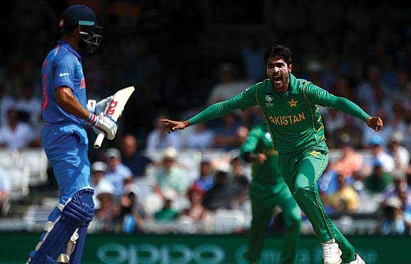 भारत-पाक मैच का एक दृश्य (फाइल फोटो)